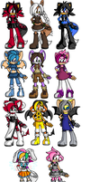 Adoptables 50- POINTS by Mdpikachu