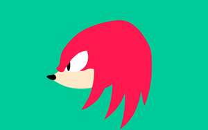 Knuckles Vector - Sonic Mania by JuanjoseSA97