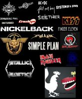 My favorite bands 2 by RoosterTeethFan