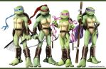 TMNT Girls by propimol