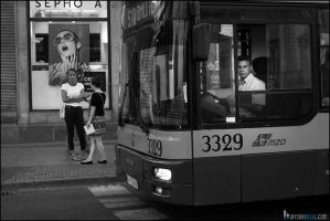 Bus driver by WysokiNiski