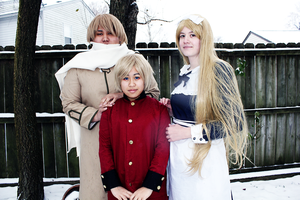 Russia's forced Family lllD by VunderbraCosplay