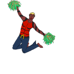 YJ Players - Aqualad, Cheerleading by RenkonNairu