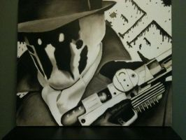 Rorschach Painting by NinjaKittyX3
