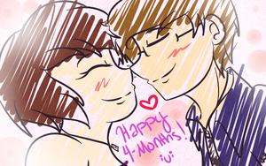 .::Happy Four-Month Anniversary::. by Scoric