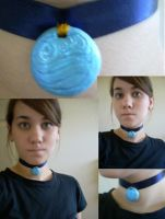 - Necklace: Katara Progress - by kailana-sama