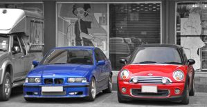 Two different products of BMW by zynos958