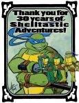 Happy Aniversary, Teenage Mutant Ninja Turtles by luxshine