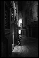 Moped Waiting by smeghead1976