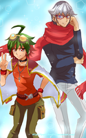 Yuya and Reiji!! by Yuri-chan24