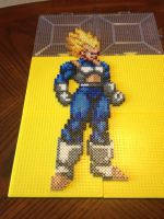 Vegeta Perler Bead Sprite by jnjfranklin