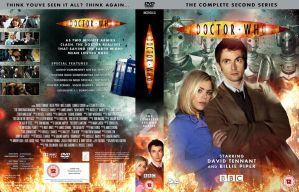 DOCTOR WHO SERIES 2 DVD COVER by MrPacinoHead