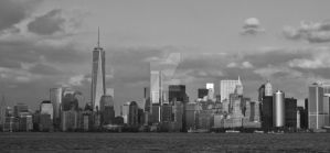Downtown New York by TheBirdsFeathers
