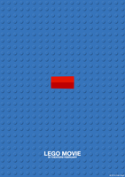 Lego Movie - Minimalistic Poster by FranGrgic