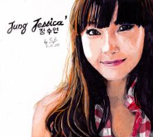 Jessica Jung Traditionnal Portrait ~ by SekushiBoy
