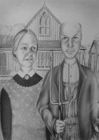 American Gothic. by chairboygazza