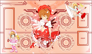 Cardcaptor Sakura Vanguard Mat by UnknownKIRA