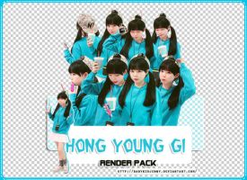 [RENDER-PACK#022] Hong Young Gi by babykidjenny