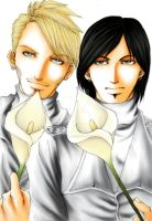 Calla Lily: Adam and Neil by OjouLaFlorDeNieve