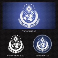 United Nations Federation - Symbol Overview by AkarukageStudios