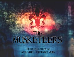 2015-2016 BBC America Musketeers Calender by Silver4456