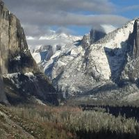 And This is Why it is Called Clouds Rest by Yosemite-Stories