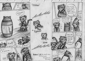 Kung Fu Panda Comic Cp. 1 page 1 and 2 by NeoMakusha