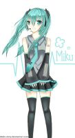 Hatsune Miku by Debi-Cristy