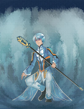 The Water Seraph-Luzrov Rulay by Inkyl23