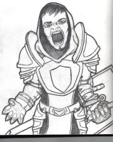 3. Angry Knight Guy by Armenoc