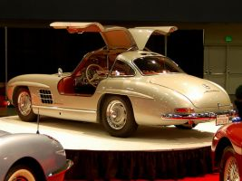 Mercedes 300SL Gullwing in SF by Partywave
