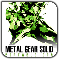 Metal Gear Solid: Portable Ops v1 by PirateMartin