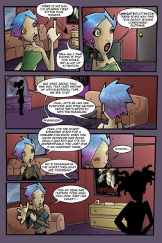 Gravity Girl Page Two by JeremyTreece