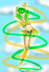 Sailor Yutera -Otriean Senshi contest entry by h1st3r1cal