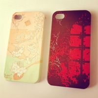 iphone case by phthalophore