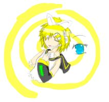 Vocaloid: Kagamine Rin by Avril170