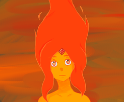 Flame Princess by KnightoftheShadows17