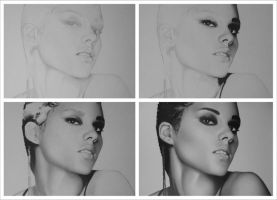 Alicia Keys WIP by sameoldkid