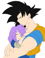 Nap Time With Uncle Goku |WIP| by Ootsutsuki