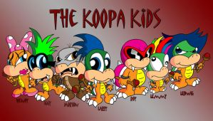 The Koopa Kids by JimmyCartoonist