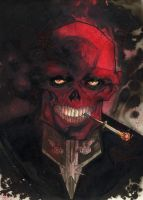 Red Skull by Blasterkid