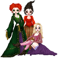 HOCUS POCUS - The Sanderson's by cerebral-espeon