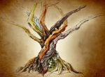 Seven Branches by Glorielfwings