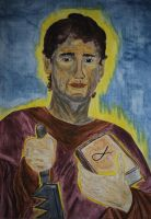 Saint Simon The Zealot by Tricia-Danby