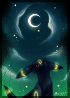 Umbreon by Psunna