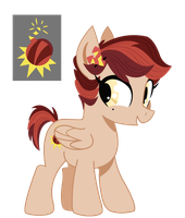 Filly Cherry Bomber -plus- new cutie mark by dbkit