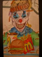 Ronald McDonald by sw33tpi3