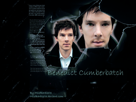 Benedict Cumberbatch by mllebarbie03