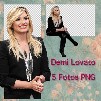 Photopack PNG #1 Demi Lovato by HipstaPls