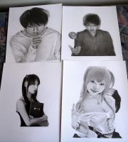 Death Note Drawings by KLSADAKO